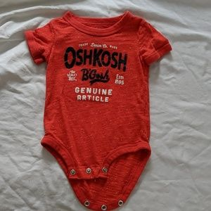 Osh Kosh Onesie